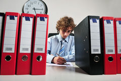 Businessman working Royalty Free Stock Images