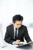 Businessman working Royalty Free Stock Photos
