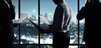 Businessman working stock photo