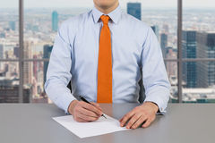 Businessman working Stock Photography