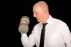 Businessman Workout Stock Photography