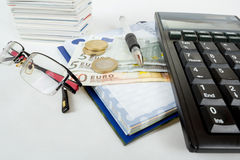 Businessman workplace Royalty Free Stock Photography