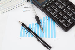 Businessman workplace Stock Images
