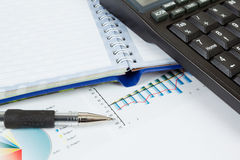 Businessman workplace Stock Image