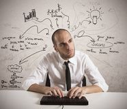 Business project royalty free stock image