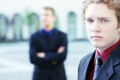 Businessman, worried Royalty Free Stock Photography
