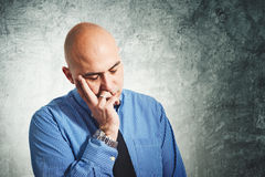 Businessman worry Royalty Free Stock Images
