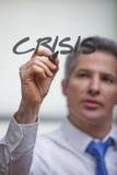 Crisis management Stock Photos