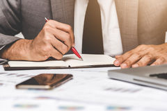Businessman writing stock images