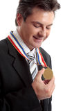 Businessman of the Year Stock Photography