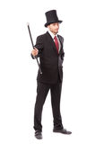 Businessman with Yop Hat Royalty Free Stock Photos