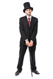 Businessman with Yop Hat Stock Images