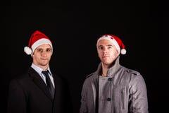 Businessmans del Babbo Natale Fotografia Stock Libera da Diritti