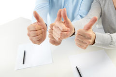 Businessmans in the office Royalty Free Stock Photography