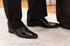 Businessmans shoes Royalty Free Stock Photography