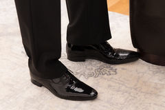 Businessmans shoes Royalty Free Stock Images