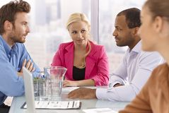 Businessmeeting Royalty Free Stock Photography