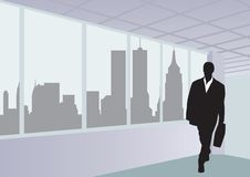 Businessmen. The Office. illustration for you design Stock Photography