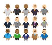 businessmen illustration stock