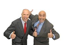 Businessmen royalty free stock photos