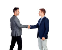 Businessmen Agreeing Stock Photography