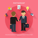 Businessmen on business meeting Royalty Free Stock Images