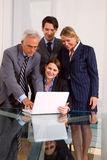 Businessmen and businesswomen Royalty Free Stock Image