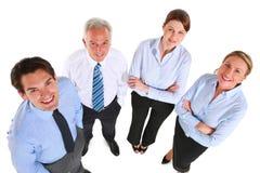 Businessmen and businesswomen Stock Image