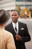Businessmen Chatting Stock Photos