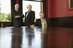 Businessmen At Conference Room Royalty Free Stock Photo