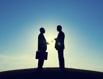 Businessmen Consultant Discussion  Royalty Free Stock Image
