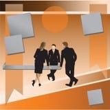 businessmen Conversation d'affaires illustration libre de droits
