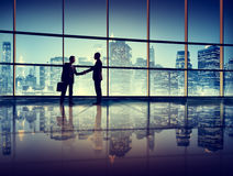 Businessmen Deal Business Handshake Greeting Concept Royalty Free Stock Image