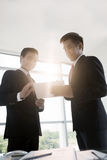 Businessmen with digital tablet Royalty Free Stock Image