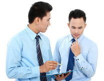 Businessmen discussing a business topic Royalty Free Stock Photography
