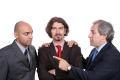 Businessmen discussing a new project Royalty Free Stock Photography