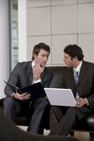 Businessmen discussing strategy Stock Photography