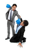 Businessmen fighting Royalty Free Stock Image