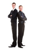 Businessmen in formal wear Stock Image