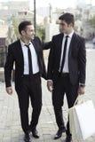 Businessmen friends Stock Photo