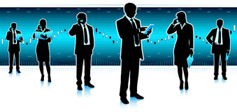 Businessmen group Stock Photos