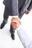 Businessmen hands handshake Royalty Free Stock Photography
