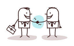 Businessmen handshake Royalty Free Stock Images