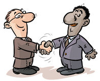 Businessmen Handshake. Stock Photo