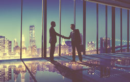 Businessmen Handshake Contract Greeting Business Concept Royalty Free Stock Photo