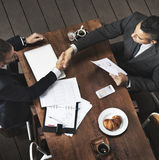 Businessmen Handshake Deal Agreement Concept Royalty Free Stock Photos