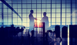 Businessmen Handshake Deal Commitment Support Concept Royalty Free Stock Images