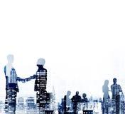 Businessmen Handshake Partnership Agreement Concept Royalty Free Stock Photography