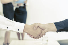 businessmen handshake two 库存图片