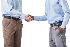 businessmen handshake two 库存图片
